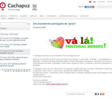 Notícia Cachapuz