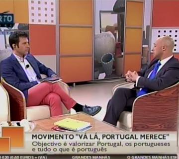Entrevista Grandes Manhãs – Porto Canal