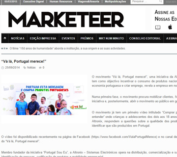 Notí­cia Revista Marketeer