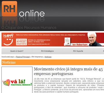 Notícia RH Online